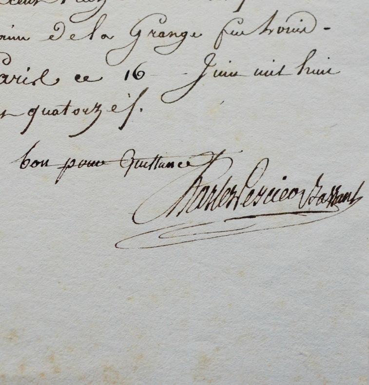 L'architecte Charles Percier achète des terres. Charles Percier (1764-1838) Architecte néoclassique français.Iltravailla en association avec son ...
