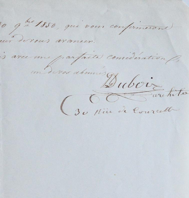 Larchitecte Du Bois et son école pour les sourds-muets. Alexandre Du Bois (1785-1866) Architecte français.