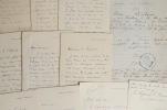 Lettres de Paul Brouardel, célèbre médecin légiste. Paul Camille Hippolyte Brouardel (1837-1906) Médecin français, spécialiste de médecine légale. ...