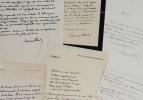 Maurice de Fleury à Bouhélier, pendant la guerre. Maurice Fleury (de) (1860-1931) Psychiatre et criminologue, élève de Charcot, ami des artistes de ...
