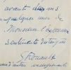 Georges Rouault, Les Fleurs du Mal et Vollard. Georges Rouault (1871-1958) Peintre et graveur français.