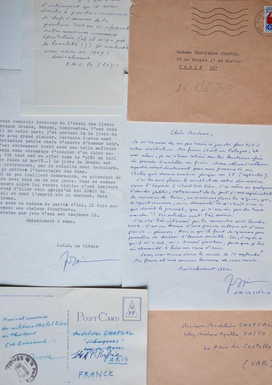 Le Clézio parle de Borges et Gombrowicz à Chapsal. Jean-Marie Gustave Le Clézio (1940-0) Romancier, prix Nobel de littérature (2008).