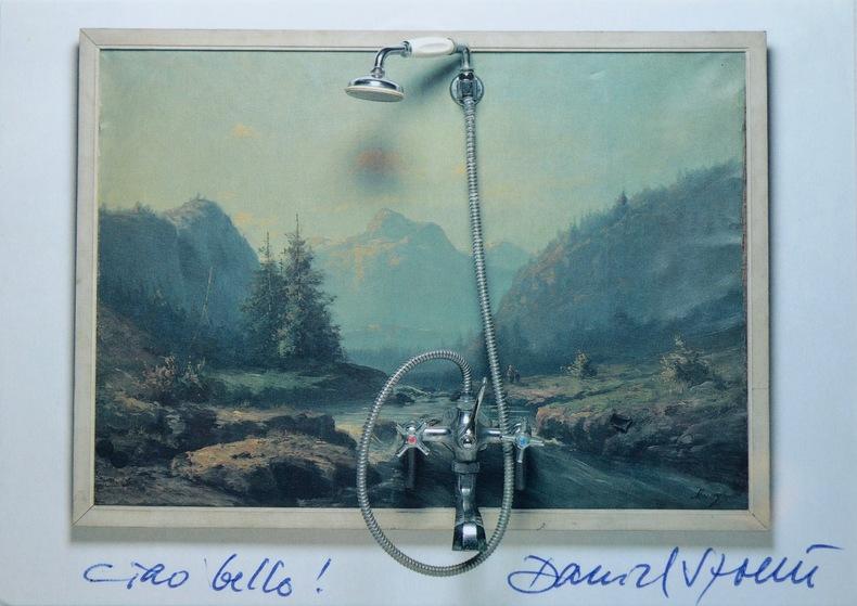 """Ciao bello !"" Daniel Spoerri. Daniel Spoerri (1930-) Artiste plasticiensuisse, d'origine roumaine."