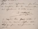 Charles Battaille enchanté par Karoly.. Charles Battaille (1822-1872) Chanteur (basse).