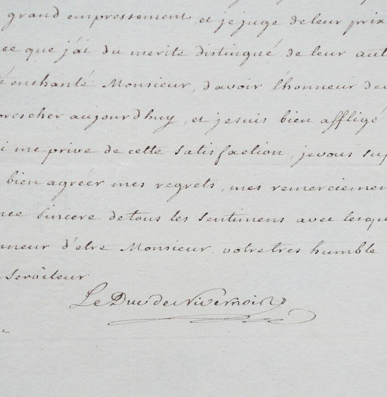 Le Duc de Nivernais reçoit des lectures. Louis Jules Mancini Mazarini, duc de Nivernais (1716-1798) Homme de lettres et diplomate, ambassadeur à Rome, ...