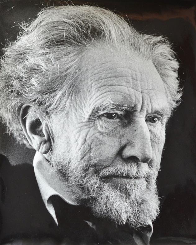 Portrait dEzra Pound par Horst Tappe.