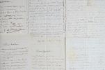 Lettres de Jules-Élie Delaunay à Jean Conte et sa femme. Jules-Élie Delaunay (1828-1891) Peintre d'histoire, élève de Flandrin, prix de Rome, membre ...