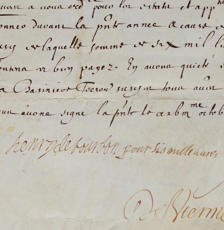 Le prince de Condé reçoit ses émoluments de gouverneur du Berry. Henri II de Bourbon (1588-1646) Henri II de Bourbon, IIIe prince de Condé, est un ...