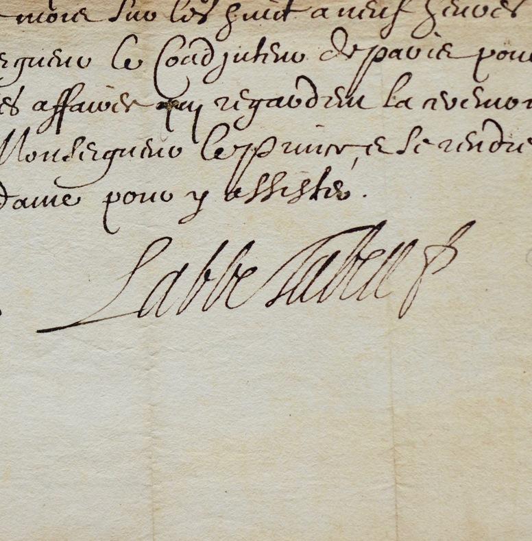 Tubeuf invite l'évêque de Gap aux obsèques du prince de Condé. Michel Tubeuf (1602-1682) Prélat français. Il fut agent général du clergé de France de ...