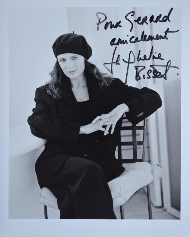 Beau portrait de Jacqueline Bisset.