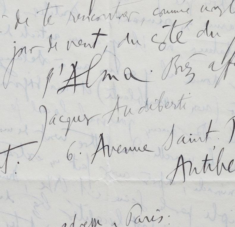 Audiberti apprend sa nomination à lAcadémie Mallarmé. Jacques Audiberti (1899-1965) Écrivain, poète et dramaturge français.