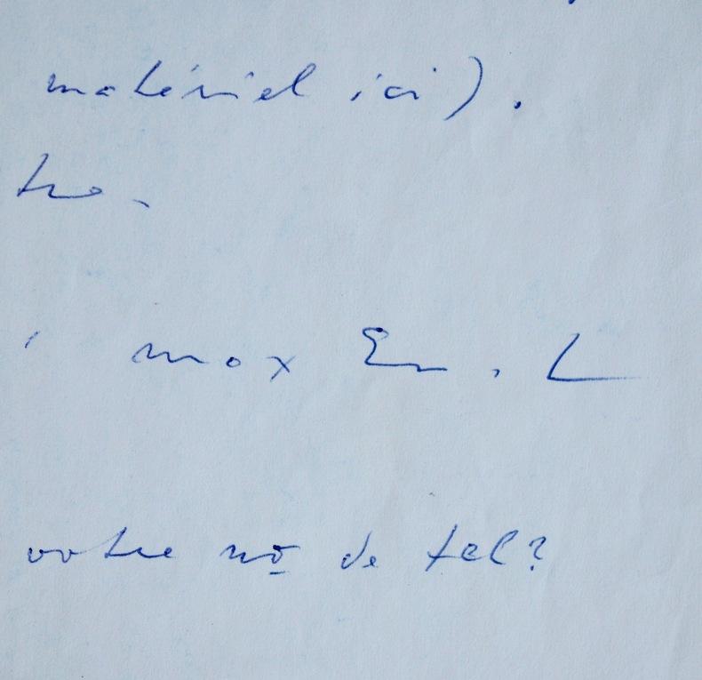 """Max Ernst, """"enchanté"""" par un projet artistique. Max Ernst (1891-1976) Peintre et sculpteur surréaliste."""