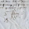 Rare reçu de Jean d'Angoulême, enfin libéré. Jean d'Angoulême (1399-1467) Comte d'Angoulême et de Périgord, frère deCharles Ier d'Orléans.Aussi dit ...