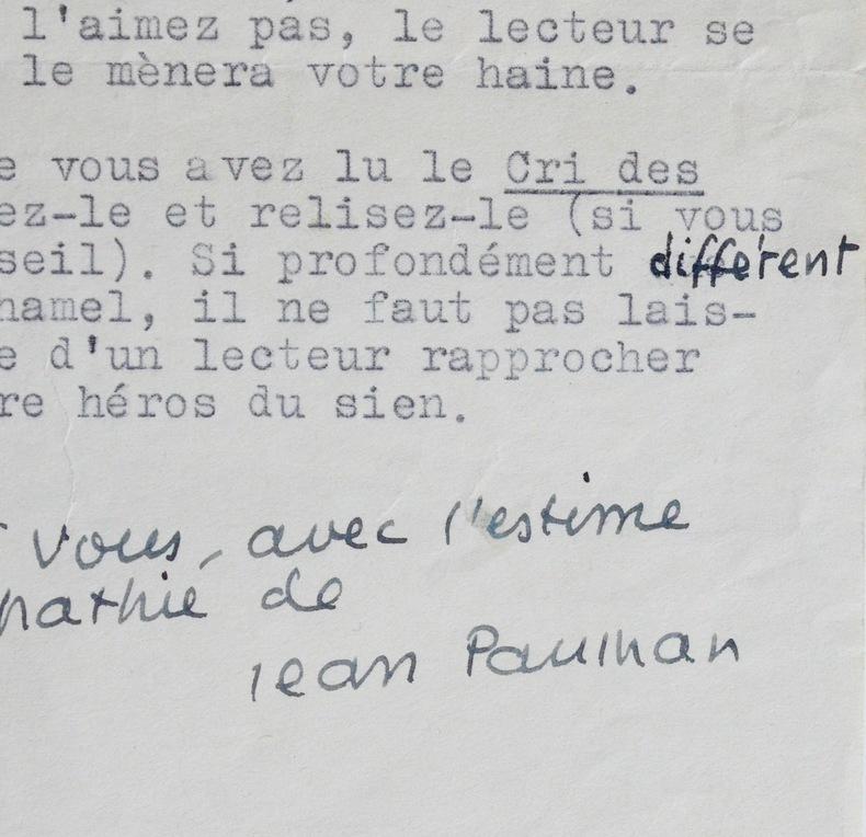 Jean Paulhan et le Journal de Romuald. Jean Paulhan (1884-1968) Critique littéraire et essayiste. Académicien (1968).