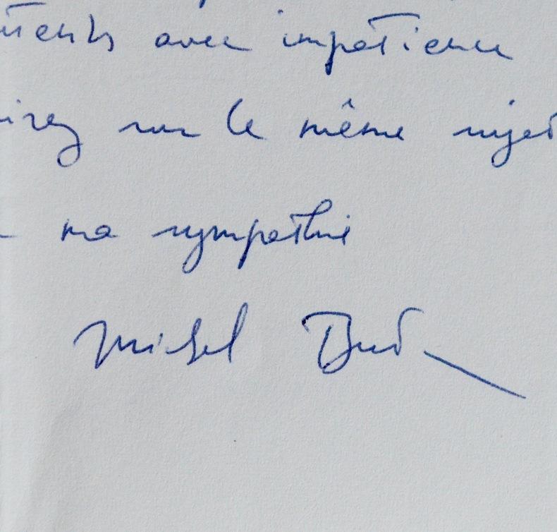 Les conseils de Michel Butor. Michel Butor (1926-0) Romancier, essayiste et poète, l'un des instigateurs du nouveau roman.