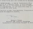 Le ministre Fernando Valera, exilé républicain à Paris. Fernando Valera (1899-1982) Homme politique espagnol et écrivain. Il fut le dernier président ...
