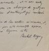 Deguy veut récupérer son article sur Bernanos. Michel Deguy (1930-) Poète et essayiste français,agrégé de philosophie.