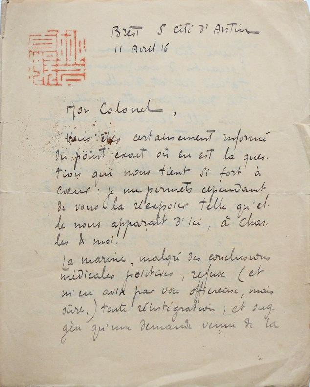 Victor Segalen soutient son ami Claude Farrère. Victor Segalen (1878-1919) Médecin, romancier, poète, ethnographe, sinologue et archéologue français.