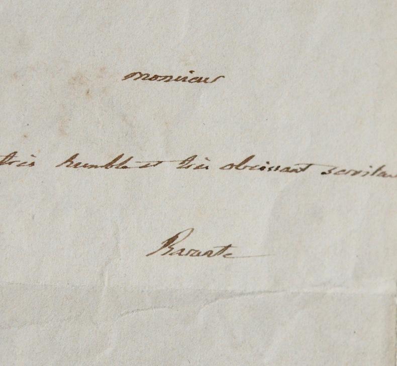 Prosper de Barante, ambassadeur en Russie. Prosper Brugière Barante (baron de) (1782-1866) Homme politique et historien. Académicien (1828).