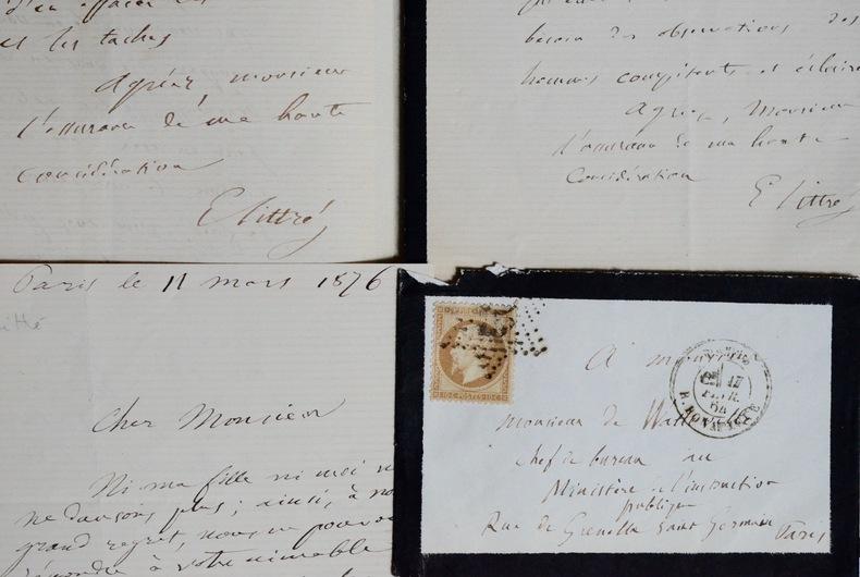 Littré, son dictionnaire et le baron de Watteville. Émile Littré (1801-1881) Philosophe, il est également lexicographe, surtout connu pour son ...