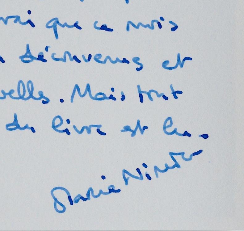 De Marie Nimier à Madeleine Chapsal. Marie Nimier (1957-) Romancière et femme de théâtre.