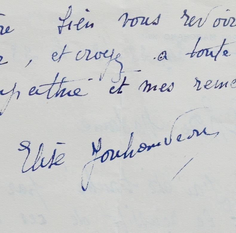 Elise Jouhandeau à Madeleine Chapsal. Élise Jouhandeau (1888-1971) Danseuse et écrivaine française. Elle avait épousé l'écrivain Marcel ...