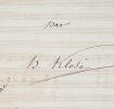 Deux manuscrits musicaux de Hyacinthe Klosé pour saxophone. Hyacinthe Klos? (1808-1880) Clarinettiste et compositeurfrançais, professeur au ...