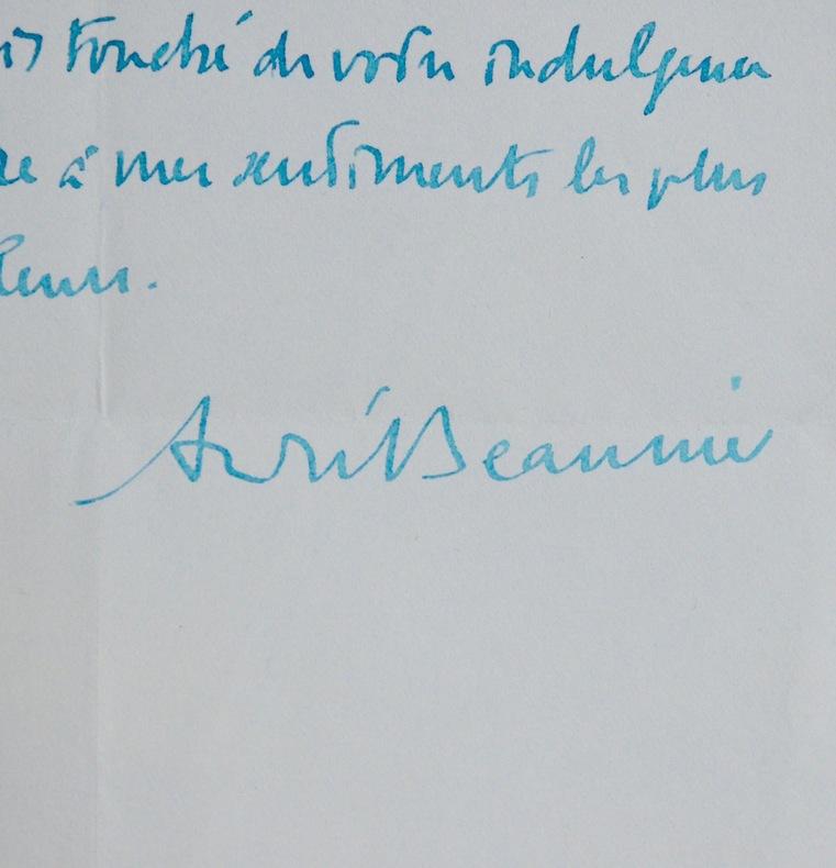 André Beaunier & Suzanne et le Plaisir. André Beaunier (1869-1925) Romancier et critique littéraire français.