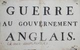 """""""Guerre au gouvernement anglais""""."""