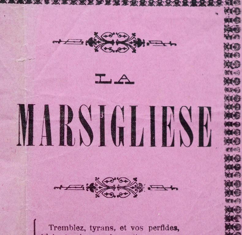 """La Marsigliese""."