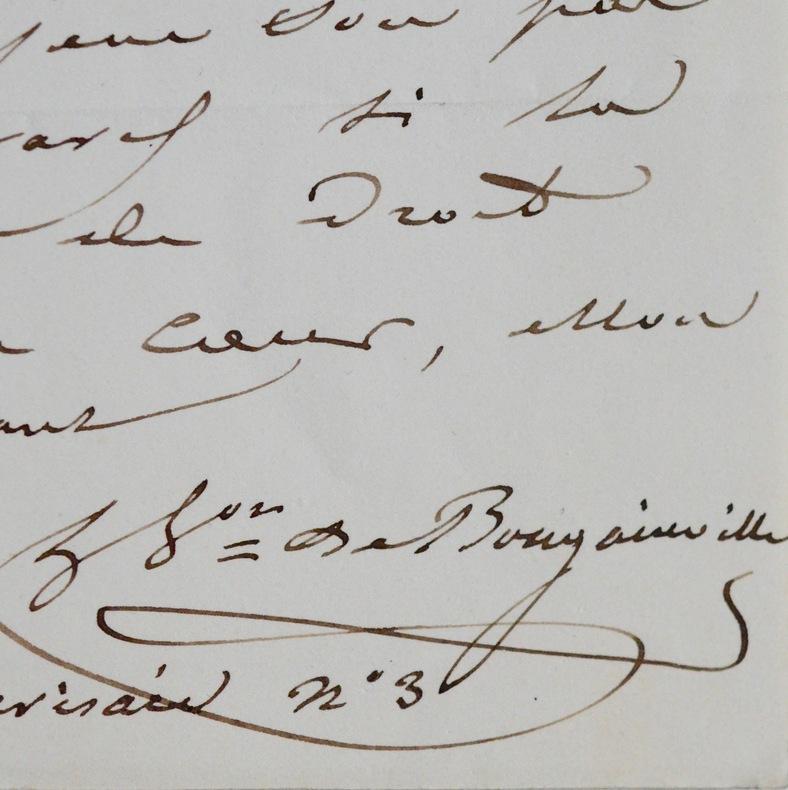 Hyacinthe de Bougainville dîne chez le roi Louis-Philippe. Hyacinthe Bougainville (de) (1781-1846) Navigateur, fils de Louis-Antoine, il participe à ...