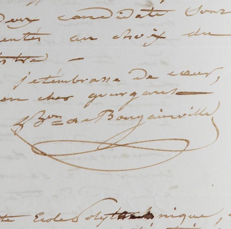 Hyacinthe de Bougainville, Gourgaud et Bravais. Hyacinthe Bougainville (de) (1781-1846) Navigateur, fils de Louis-Antoine, il participe à l'expédition ...