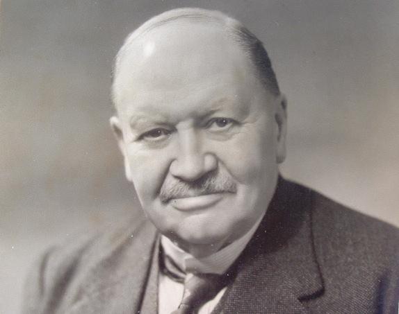 Portrait dédicacé de William Davis.. William Davis (1850-1934) Géologue et géographe américain.