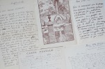 Ferdinand Bac évoque Mérimée et Mussolini. Ferdinand Bac (1859-1952) Dessinateur et homme de lettres.