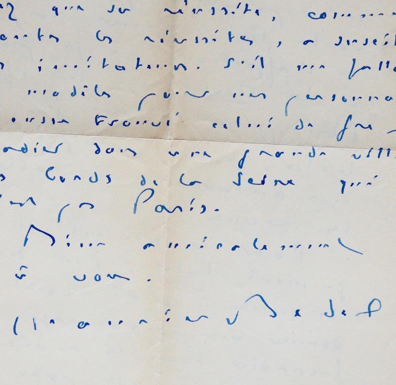 Sept lettres du prix Goncourt Maurice Bedel. Maurice Bedel (1883-1954) Romancier, prix Goncourt (1927)