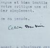 Célia Bertin, ses romans, Virginia Woolf et Guerre et Paix. Célia Bertin (1920-2014) Femme de lettresetromancière française, lauréate du prix Renaudot ...