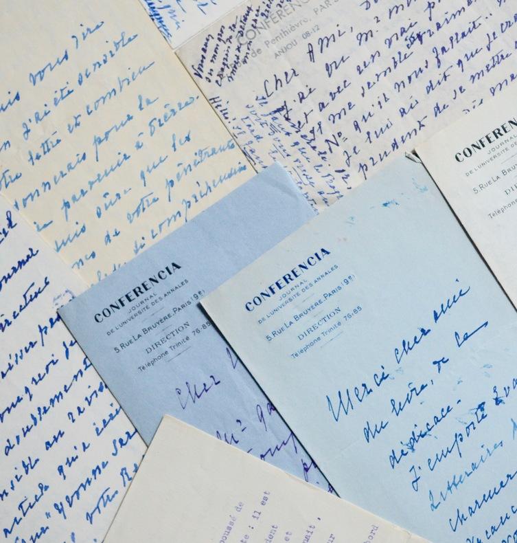 Sept lettres d'Yvonne Sarcey (Madeleine Brisson). Yvonne Sarcey (1869-0) Fille de Francisque Sarcey et épouse d'Adolphe Brisson, tout deux critiques ...