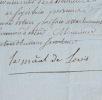 Le duc de Lévis élevé au rang de maréchal de France. François Gaston de Lévis (1719-1787) Militaire français.Il fut élevé àla dignité de maréchal de ...