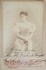Portrait dédicacé de la soprano colorature Marcella Sembrich. Marcella Sembrich (1858-1935) Soprano coloraturepolonaise. Elle a eu une importante ...