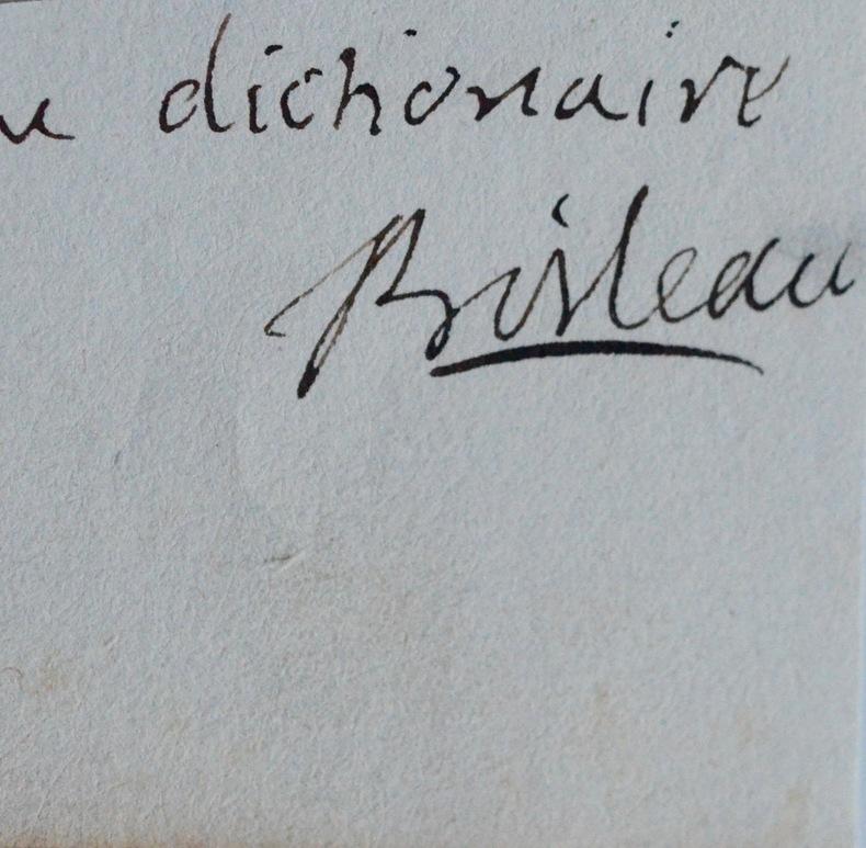 L'Académicien Charles Boileau et le dictionnaire. Charles Boileau (1648-1704) Homme d'Église et prédicateurfrançais. Abbé de Beaulieu, il fut reçu à ...