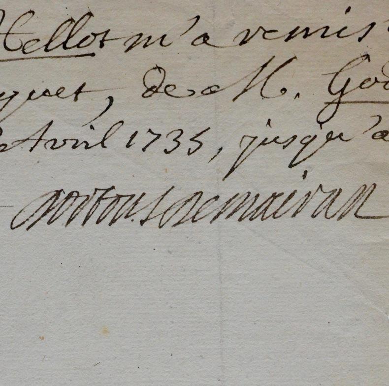 Dortous de Mairan évoque les chimistes Hellot et Dufay. Jean-Jacques Dortous de Mairan (1678-1771) Mathématicien, astronome et géophysicien français.
