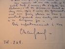 Charles Vanel chaleureux.. Charles Vanel (1892-1981) Acteur de cinéma et réalisateur.