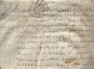 Daniel Huet opposé à l'ordonnance sur l'abbaye de Fontenay..