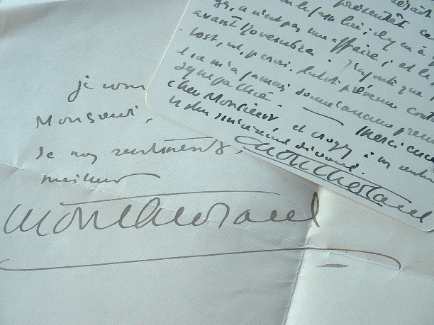 Montherlant présente Le Songe au Prix Balzac.. Henry Montherlant (de) (1896-1972) Ecrivain, académicien.