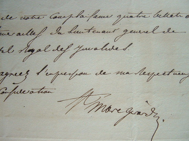 Saint-Marc Girardin et les funérailles du général Damrémont.. Marc Saint-Marc Girardin (1801-1873) Homme politique, critique littéraire, académicien ...