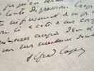 Alfred Capus entame un important travail.. Alfred Capus (1857-1922) Journaliste et dramaturge, membre de l'Académie française, rédacteur en chef du ...