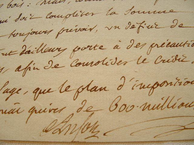 Pierre-Hubert Anson. Lettre au comité des Impositions.. Pierre-Hubert Anson (1744-1810) Député du Tiers Etat, économiste et philanthrope. Un des ...