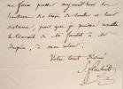 Stéphane Flachat supervise le canal maritime de Paris.. Stéphane Flachat (Mony) (1800-1884) Ingénieur, saint-simonien, député. Il obtient la ...