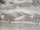 Vue de Tournus au début du XVIIIe siècle..