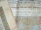 Brevets d'admission dans les trois ordres franciscains..